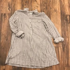 Loft Double Lined Flannel Tunic